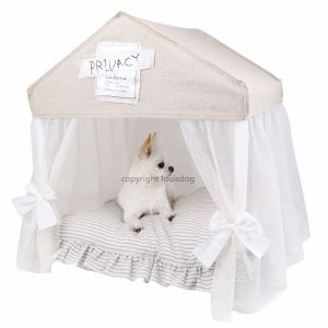 Fancy Dog Bed Louis Dog Peekaboo Cabana  sc 1 st  Pinterest & Fancy Dog Bed Louis Dog Peekaboo Cabana | Things for Our Princess ...