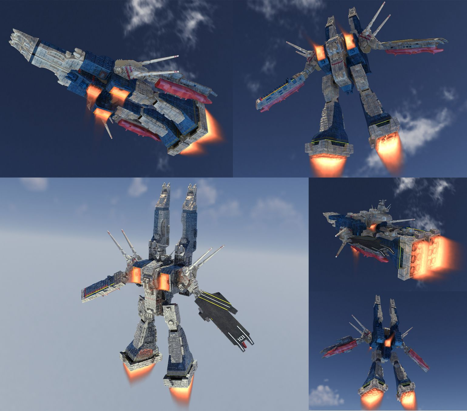 SDF-1 Boosters by asgard-knight.deviantart.com on @deviantART