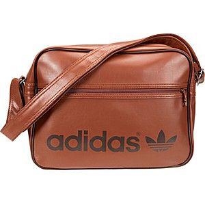 1d8f9c899365d adidas Originals Umhängetaschen SIR BAG PATENT Umhängetasche braun ...