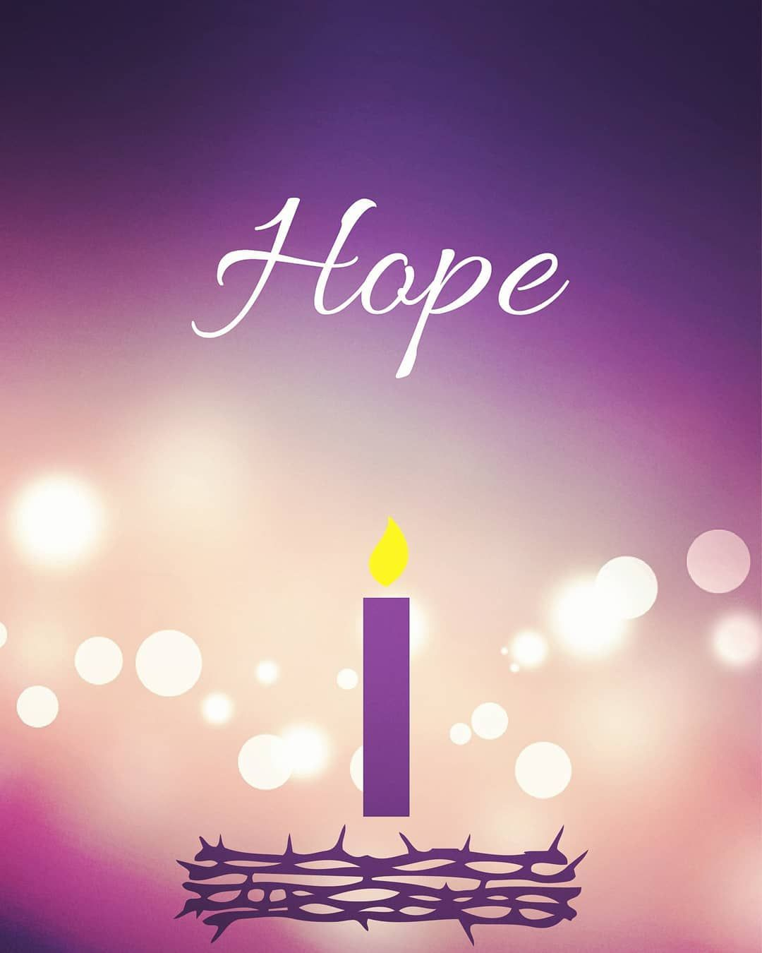 "Ruth💑💍💒#TraditionalCatholic on Instagram: ""FIRST WEEK OF ADVENT --HOPE--  🙏 The Hope Candle serves as a reminder of the h… 