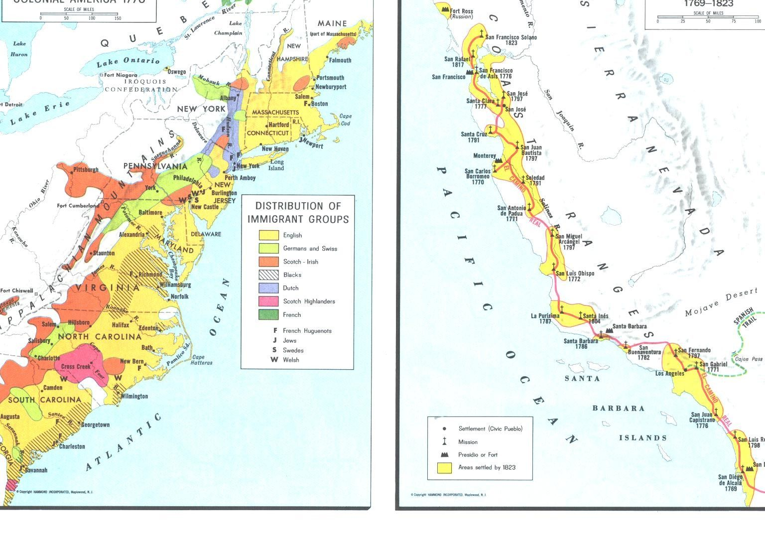 Colonial American Map.Colonial America 1770 Maps Pinterest Colonial America The