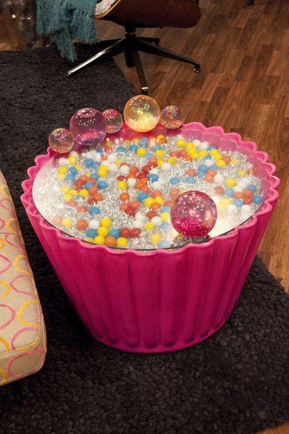 Cupcake Side Table   ICarly Bedroom