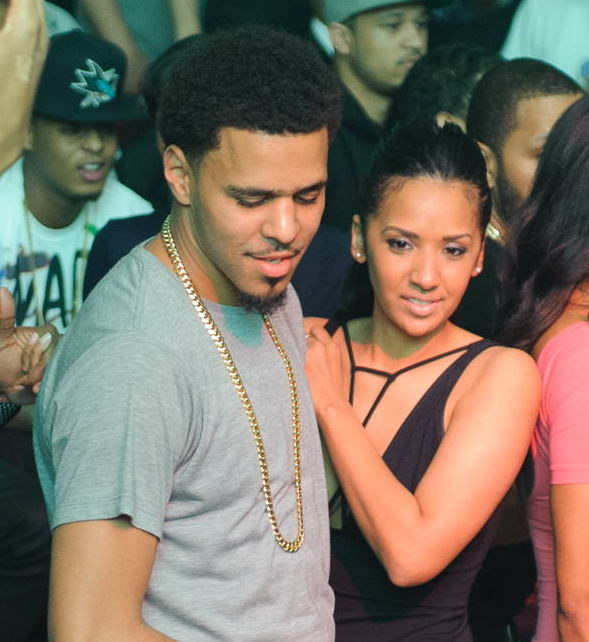 J Cole And Vanessa Simmons J. Cole and Mel...