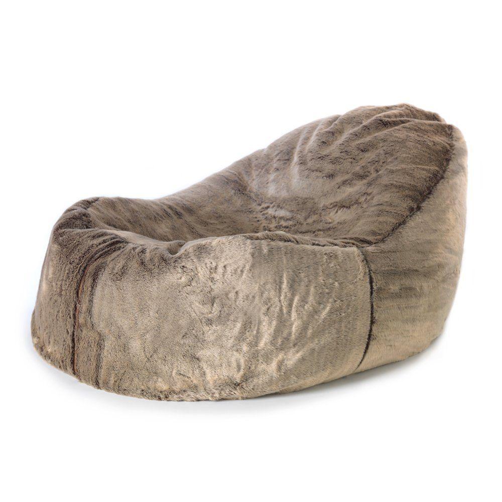 ICON Ottawa Dream Lounger Faux Fur Bean Bag