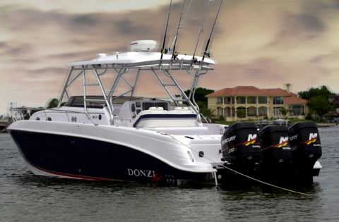 my husband and i will have a NICE donzi fishing boat to go