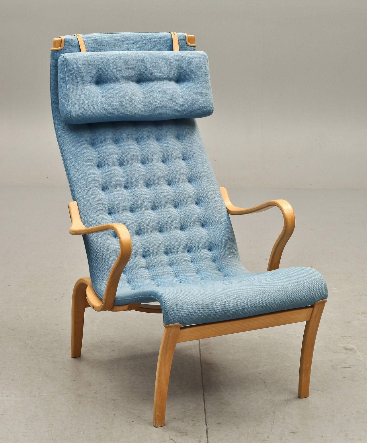 Bruno Mathsson Miranda Lounge Chair For Dux Vintage