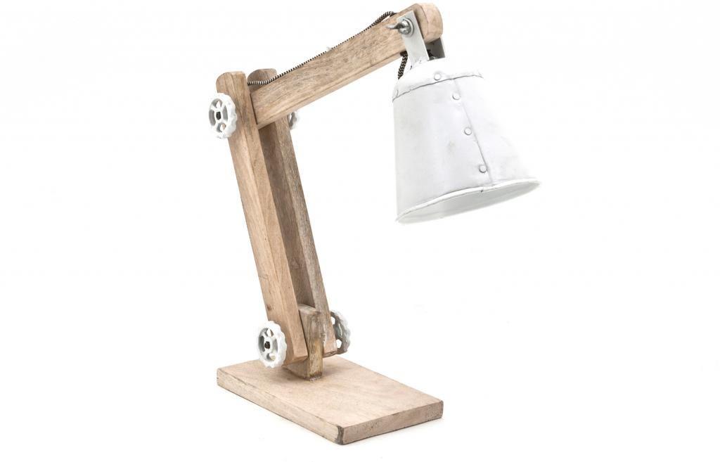 By Boo Lampen : Tafellamp wood mango hout metaal by boo kopen? lil.nl stoere en