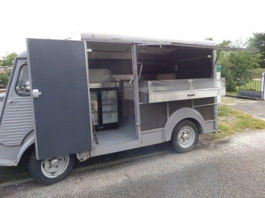 Citroen HY Van 1970 catering/shop