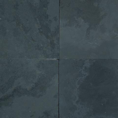 Black Penny Tile Fireplace Google Search Black Slate Tiles Slate Tile Black Stone Tile