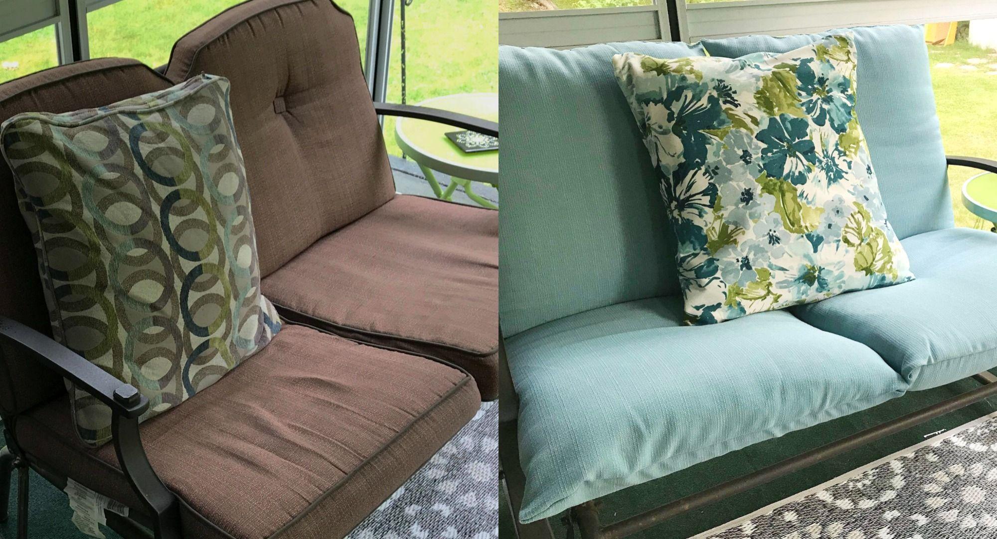 Diy patio cushion covers patio furniture cushions patio