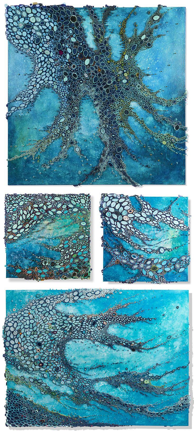 Amy Genser Creates Gorgeous Underwater Reefs From Hundreds ...