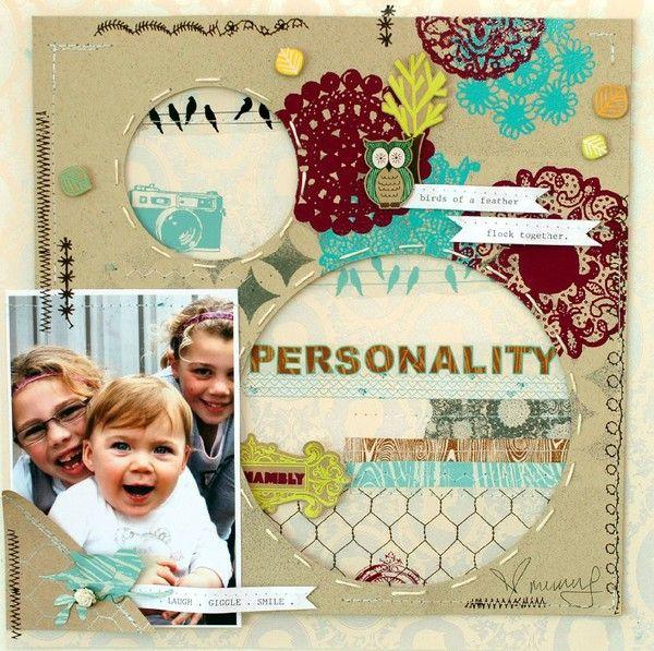 Personality layout