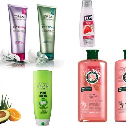 sulfate and silicone free shampoo drugstore