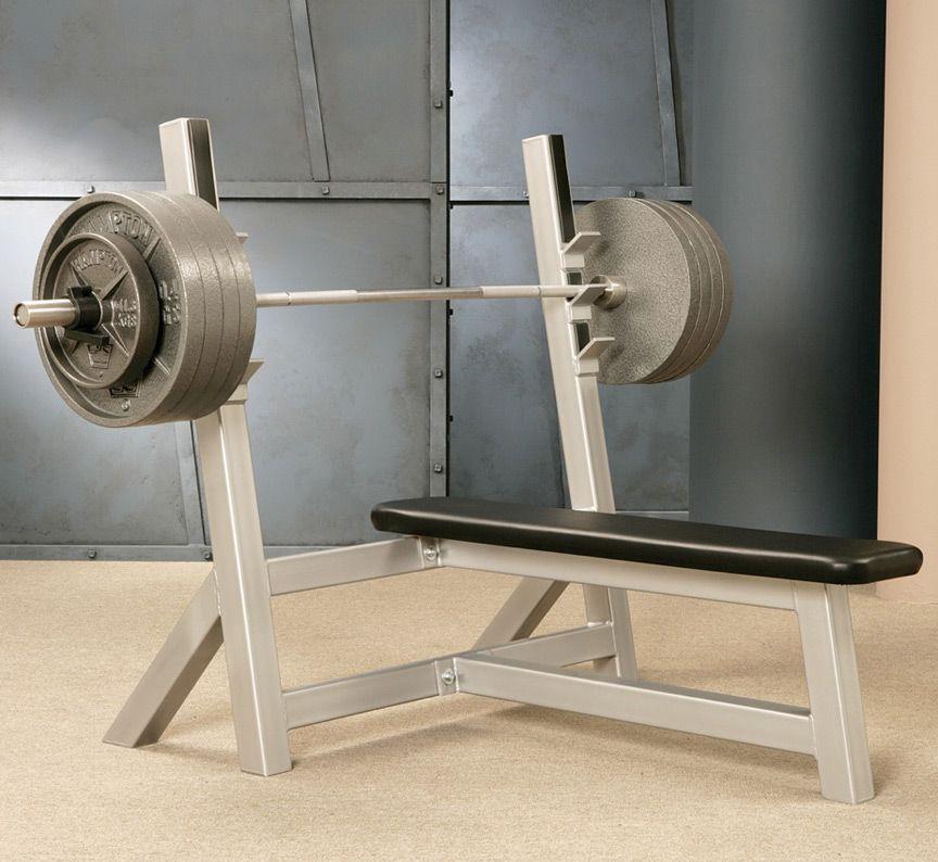 Usa Made Olympic Bench Press For Barbells And Weight Plates Equipo De Gimnasio En Casa Gimnasio En Casa Diseno De Gimnasio