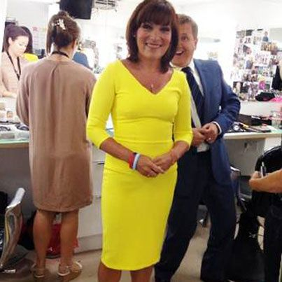 uk availability detailed look buy good Lorraine Kelly from ITV Daybreak in @Diva Catwalk #Dress ...