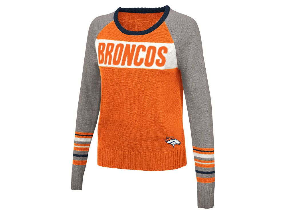 Denver Broncos Touch by Alyssa Milano NFL Women s Team Spirit Sweater aa1cc20ee