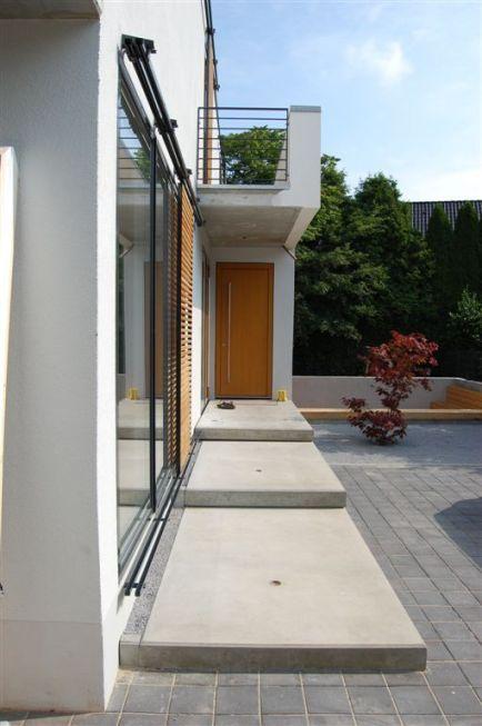 eingangstreppe und schiebel den exterior pinterest eingang eingangstreppe und haus. Black Bedroom Furniture Sets. Home Design Ideas