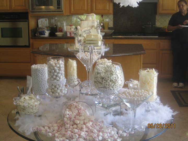 All White Party All White Party White Party Wedding Table Deco