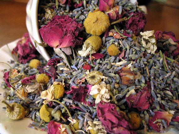 Potpourri Herbal Blend Organic Chamomile Lavender and by LLFarm, $7.50