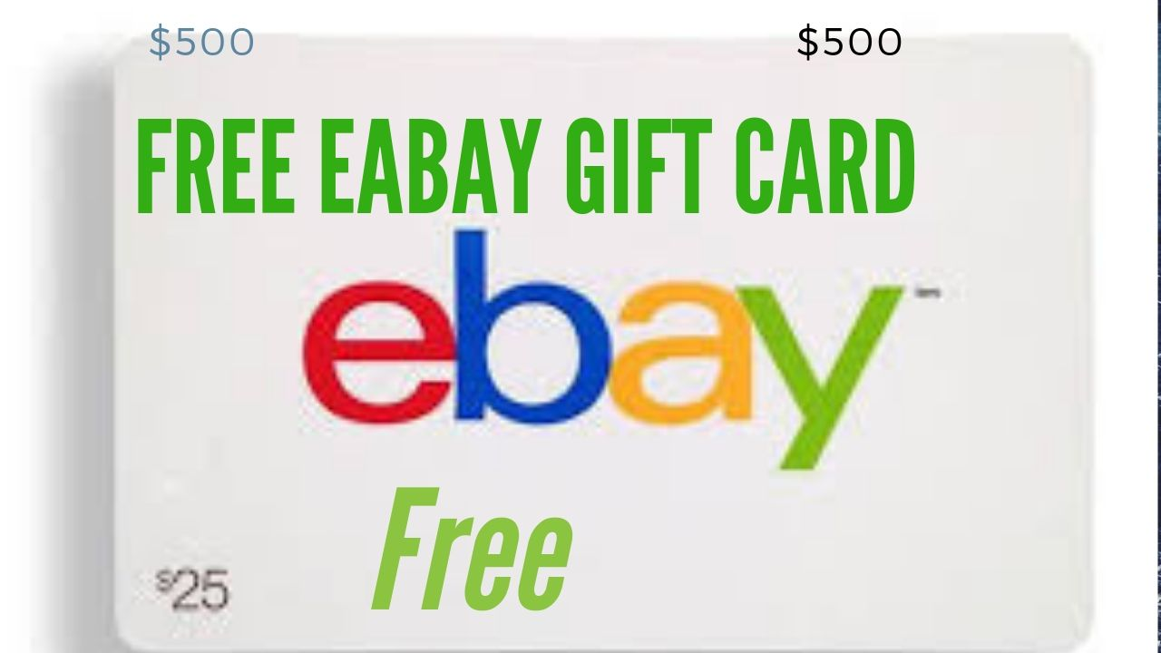 Enter For A Chance To Win 1000 Ebay Gift Card Gift Card Generator Ebay Gift Amazon Gift Card Free
