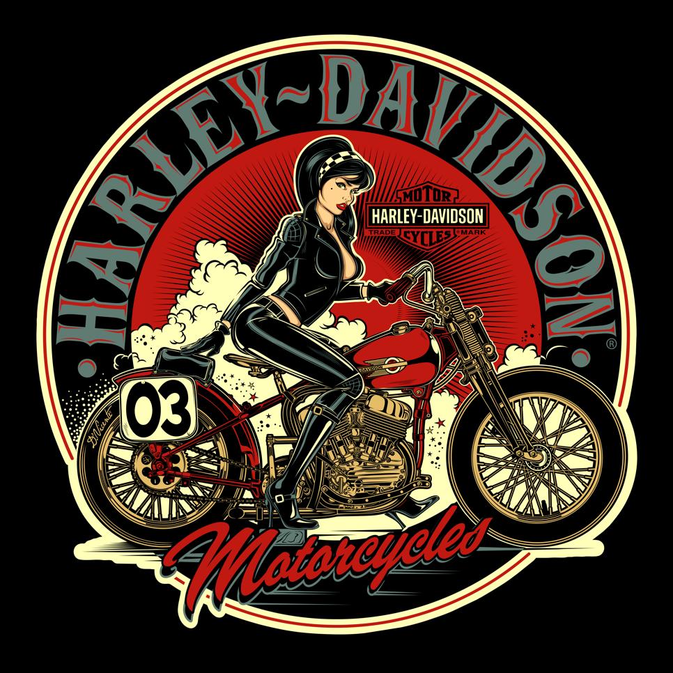 Design Commission Harley Davidson Usa 2017 Imagens Harley Davidson Cartazes Vintage Cartazes Retro