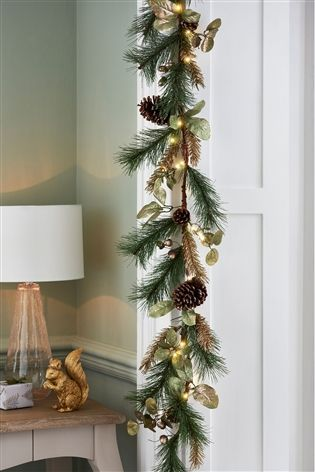 Lit Gold Acorn Garland From The Next Uk Online