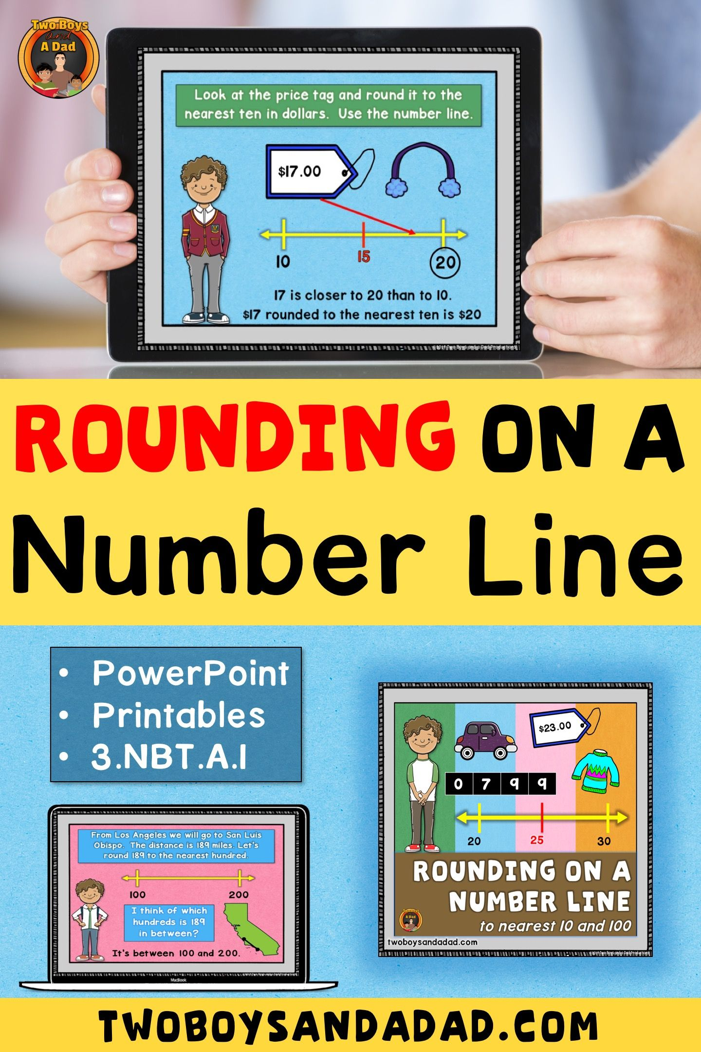 Rounding On A Number Line Builds Conceptual Understanding