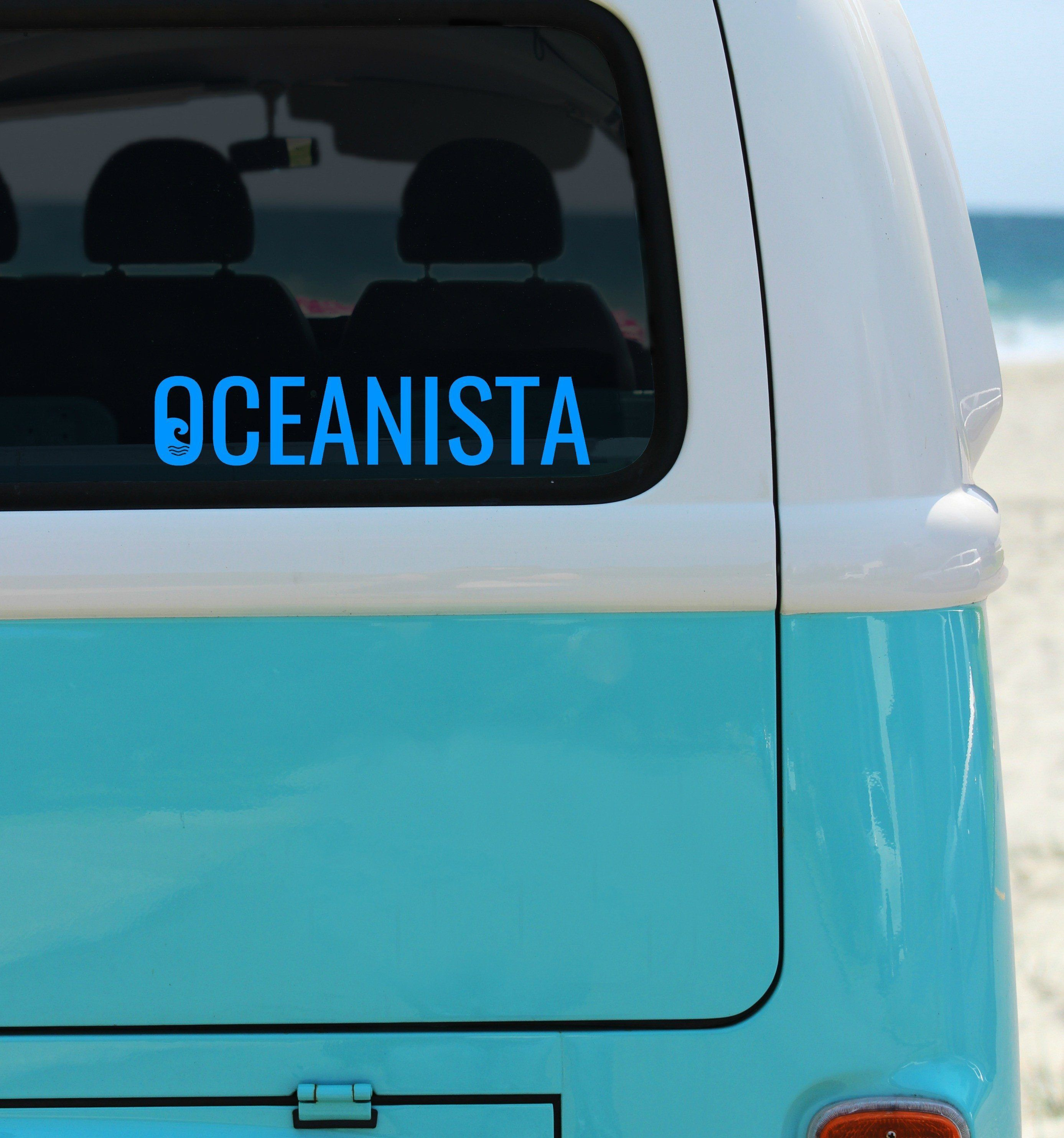 Oceanista Car Decals Car Decal And Products - Vinyl decals for cars windows