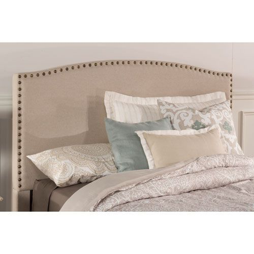 Hillsdale Furniture Kerstein Light Taupe Twin Headboard With Frame