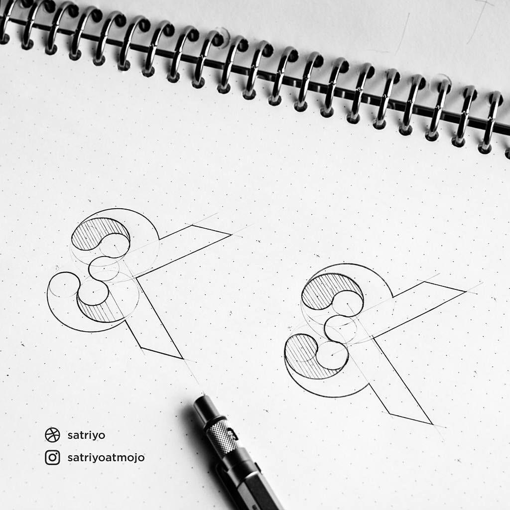 Photo of Monogram logo design by satriyoatmojo