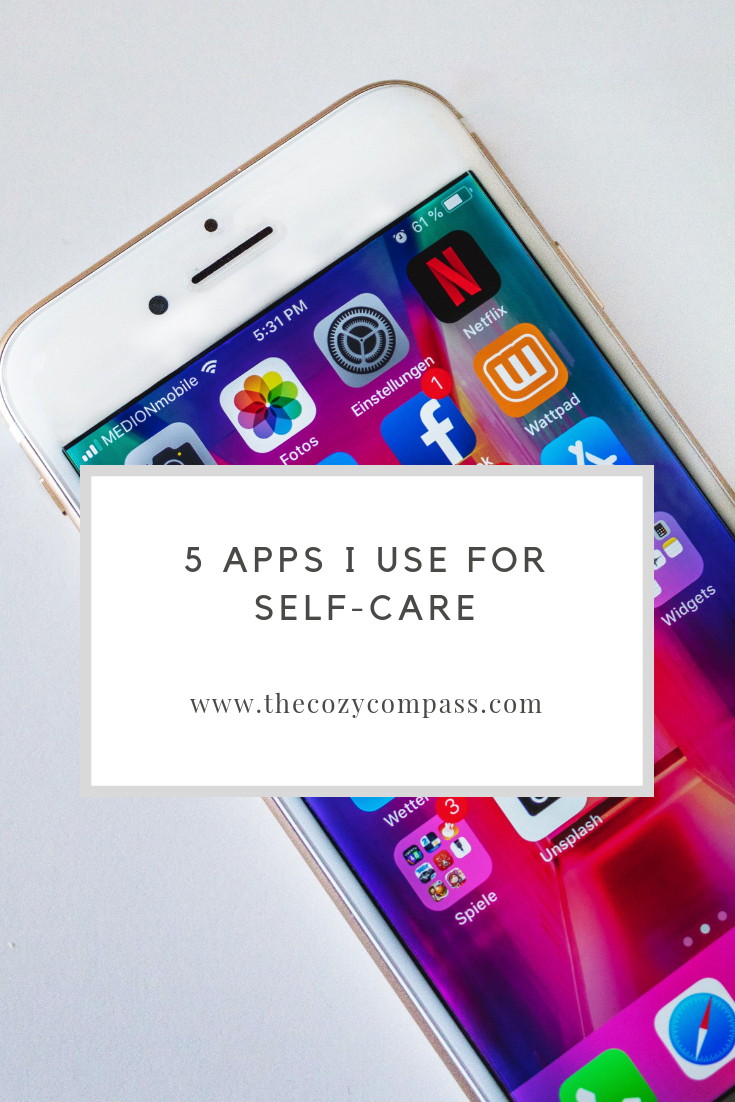 5 Apps I Use for SelfCare Good apps for iphone, Health