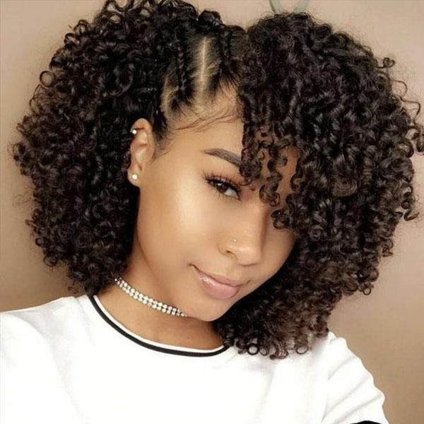 Natural Hair 18'' - The perfect wash & go - Best Wig #naturalhairstyles