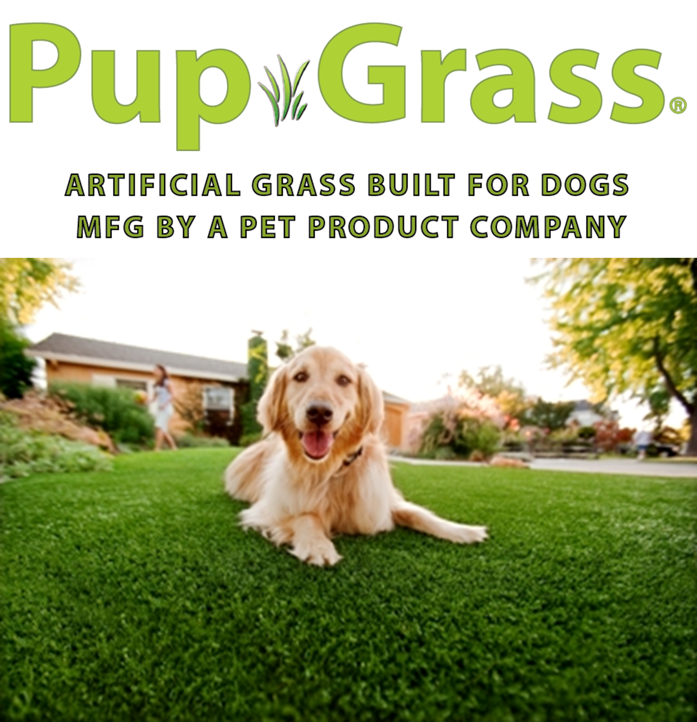 PupGrass® Artificial Grass Built for Dogs Artificial