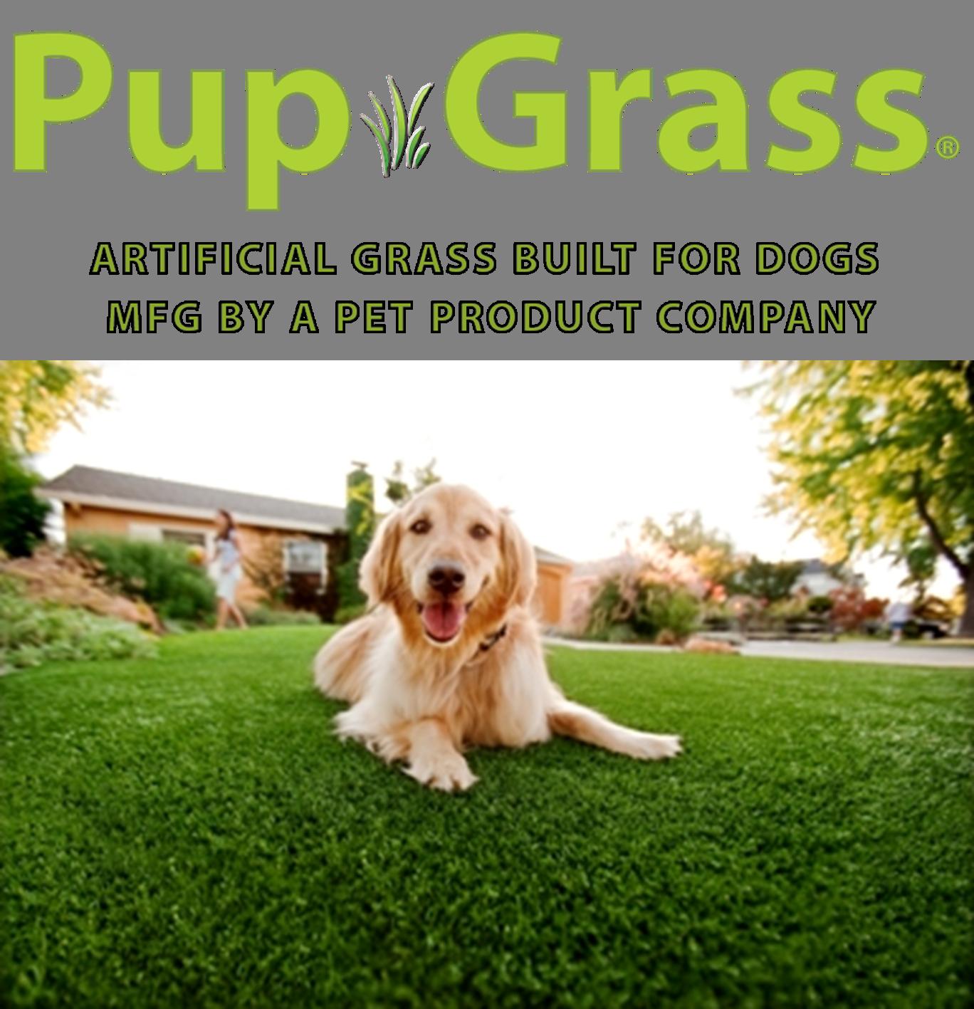 PupGrass® Artificial Grass Built for Dogs Artificial