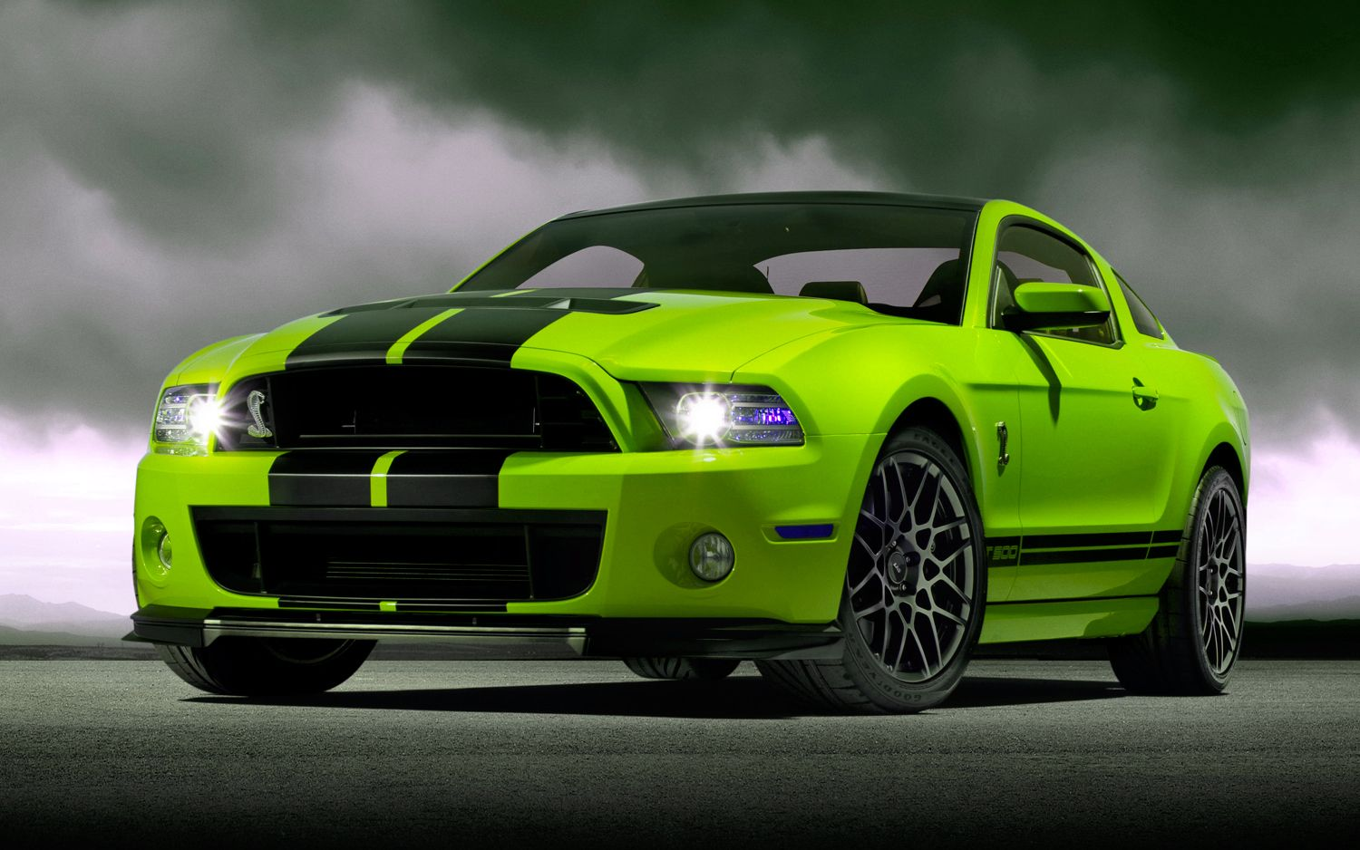 green mustang car this is mine to anyone want to buy it for me