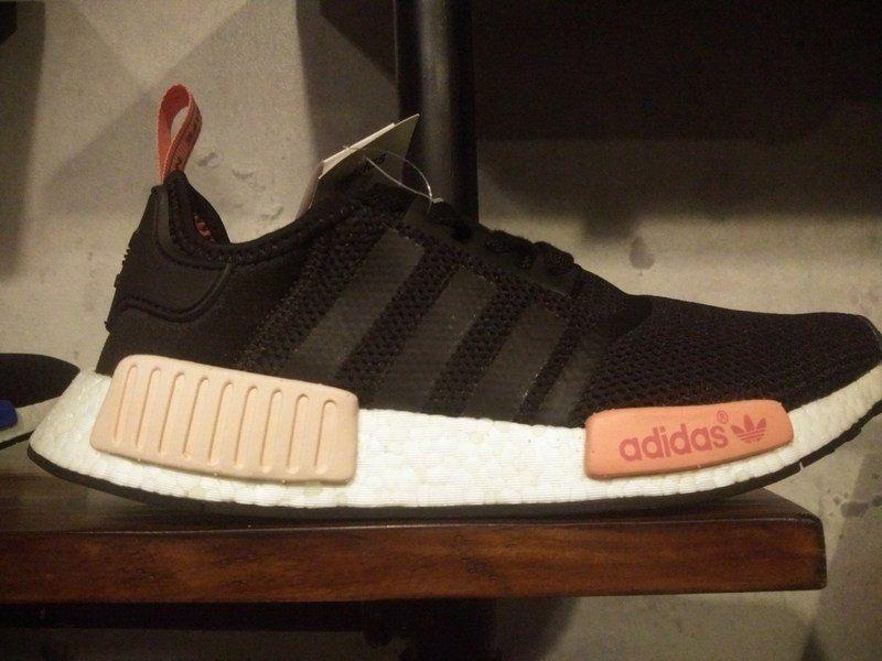size 40 6b940 2891c Adidas NMD Black Peach (W) S75234 Women's | Shoes | Adidas ...