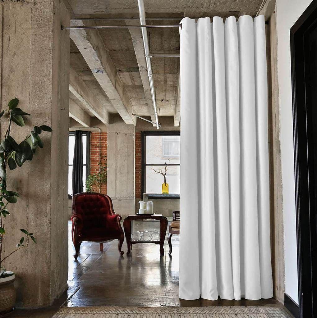 Silver Freestanding Room Divider Room Divider Curtain Room Divider