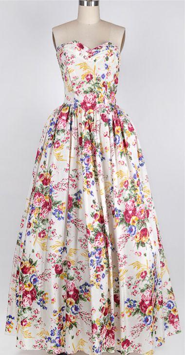 Vintage Garden Ball Gowns