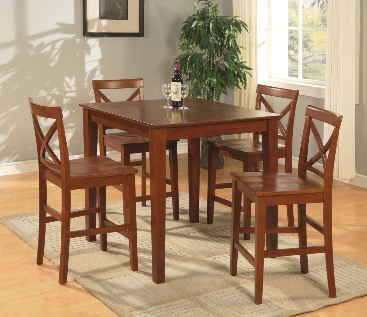 Oak Pub Style Kitchen Table