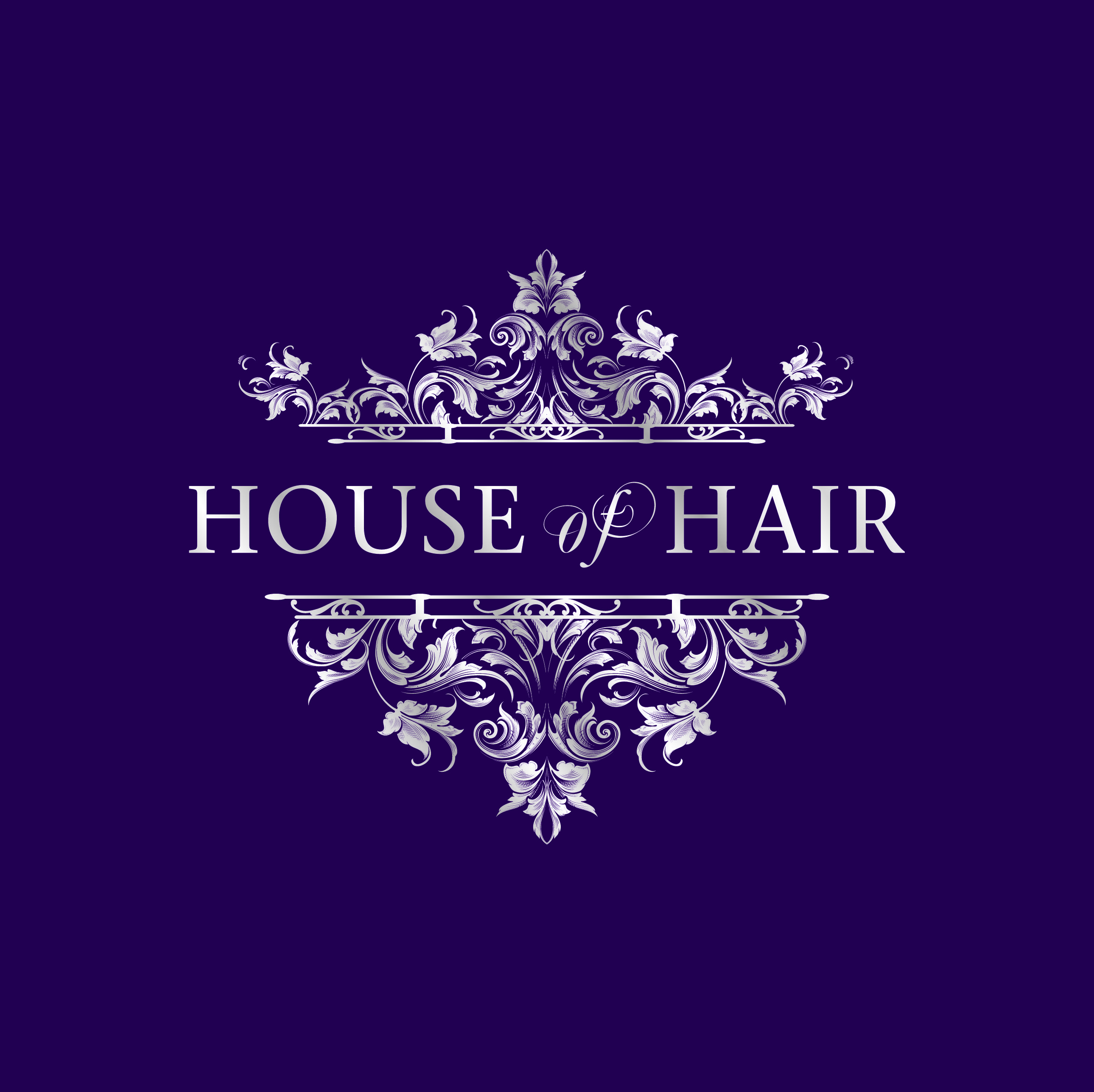 Logo Designed by us for new Hairdressers ©Thinkpad Print