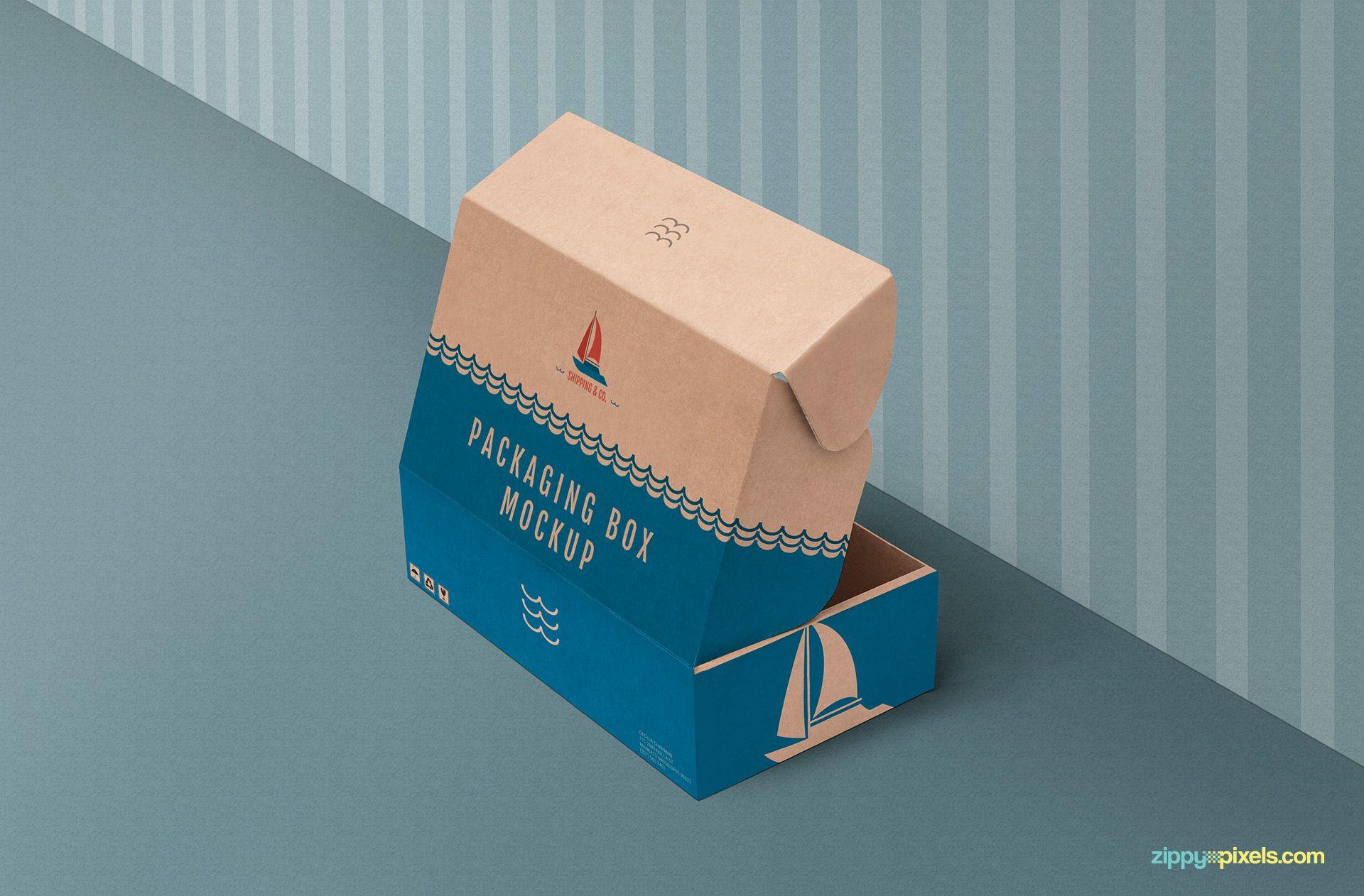 Download Free Product Box Mockup Zippypixels Mockup Box Mockup Packaging Mockup