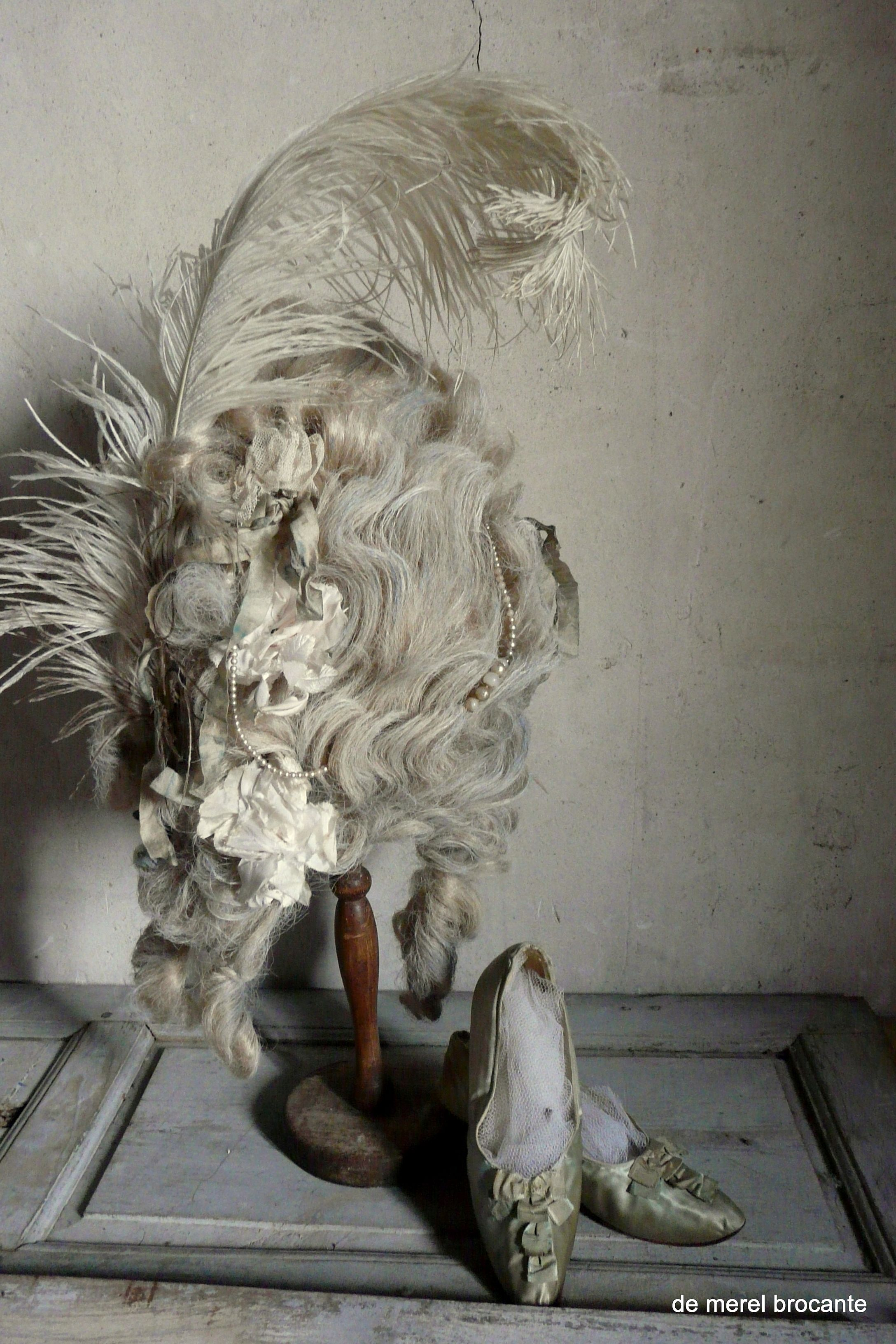 Vintage marie antoinette theatre wig cinderella pinterest wig