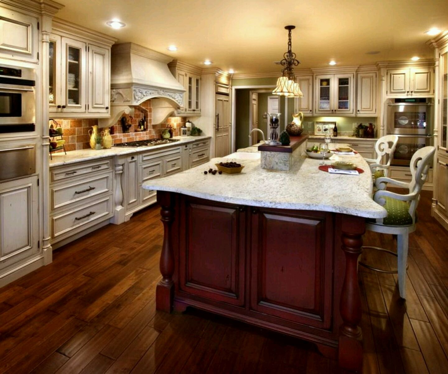 Perfect Luxury Kitchen Designs Tile Panels In Kitchens Y