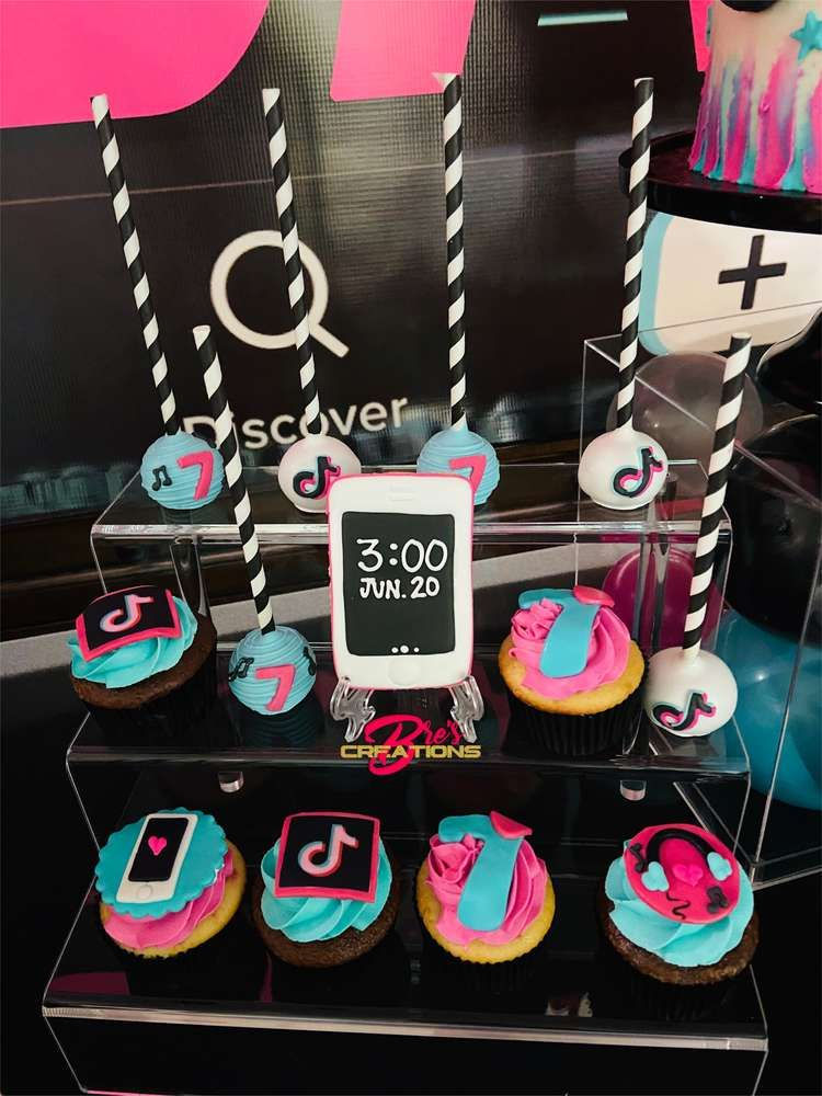 Tiktok Inspired Theme Birthday Party Ideas Photo 10 Of 27 Birthday Surprise Party Neon Birthday Party Dance Party Birthday