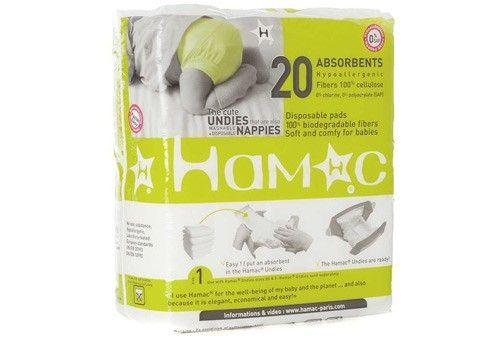 Pack De 20 Inserts Jetables Pour Couche Hamac Babies