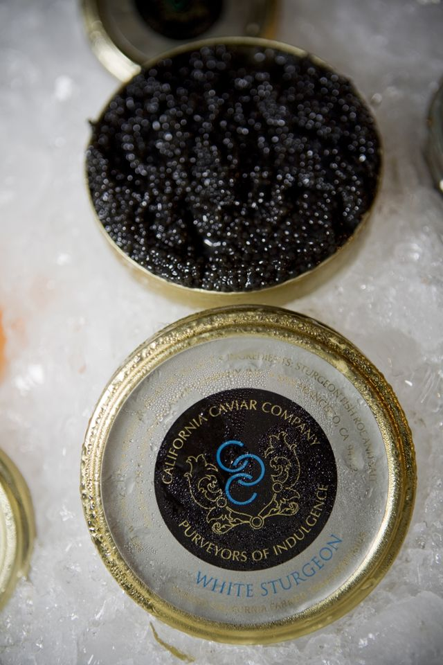 California Caviar at the 4th Annual Top of the List Event in NYC For more information, contact info@skwproduction.com