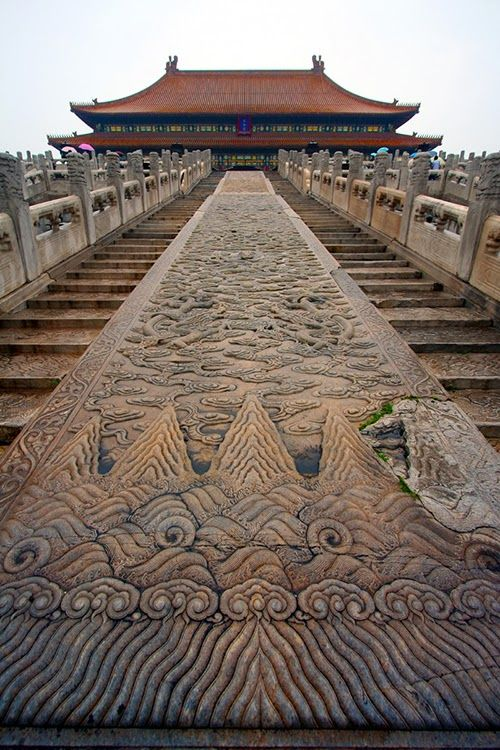 Stairs to Hall of Great Harmony