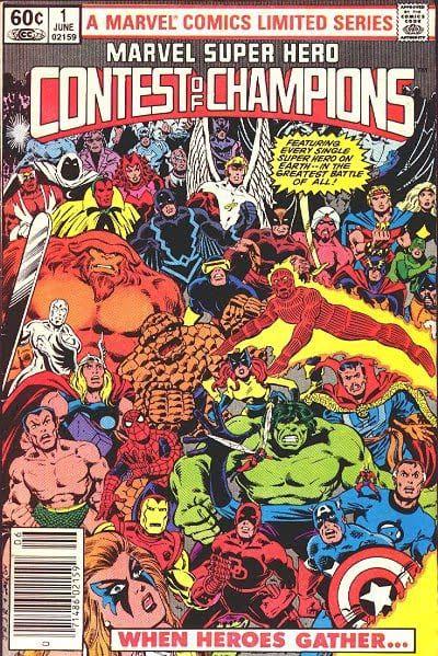 marvel comics events
