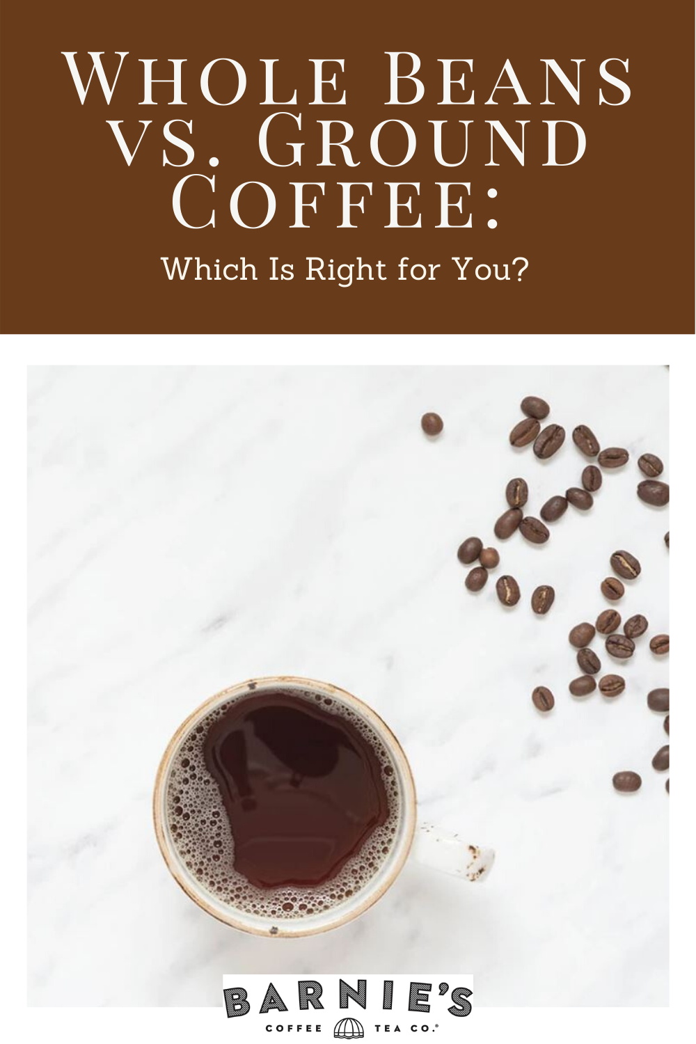 Whole Beans vs. Ground Coffee Which Is Right for You? in