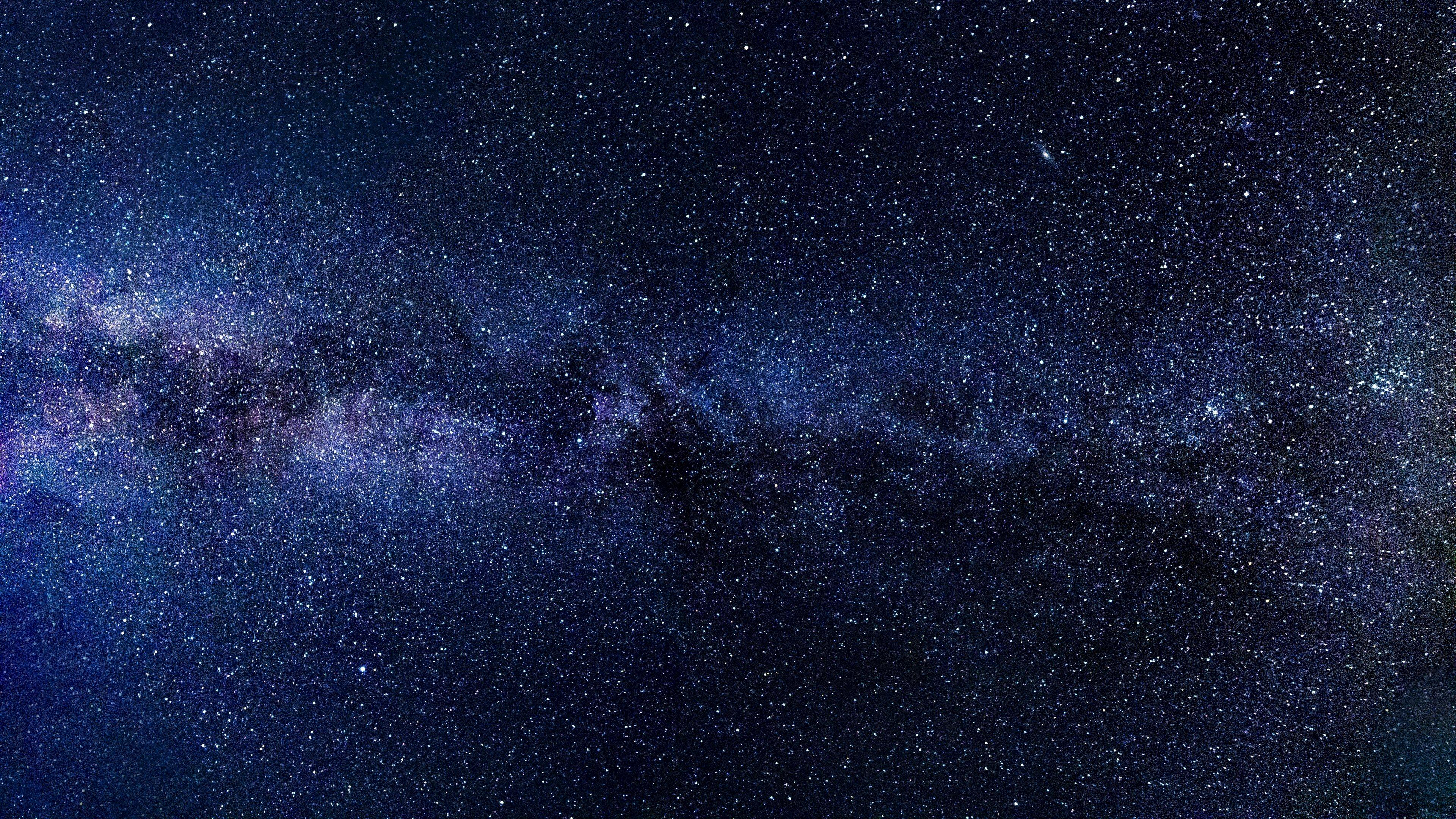 4k Space Stars Wallpaper Trick Langit Malam Galaksi Bima Sakti Langit